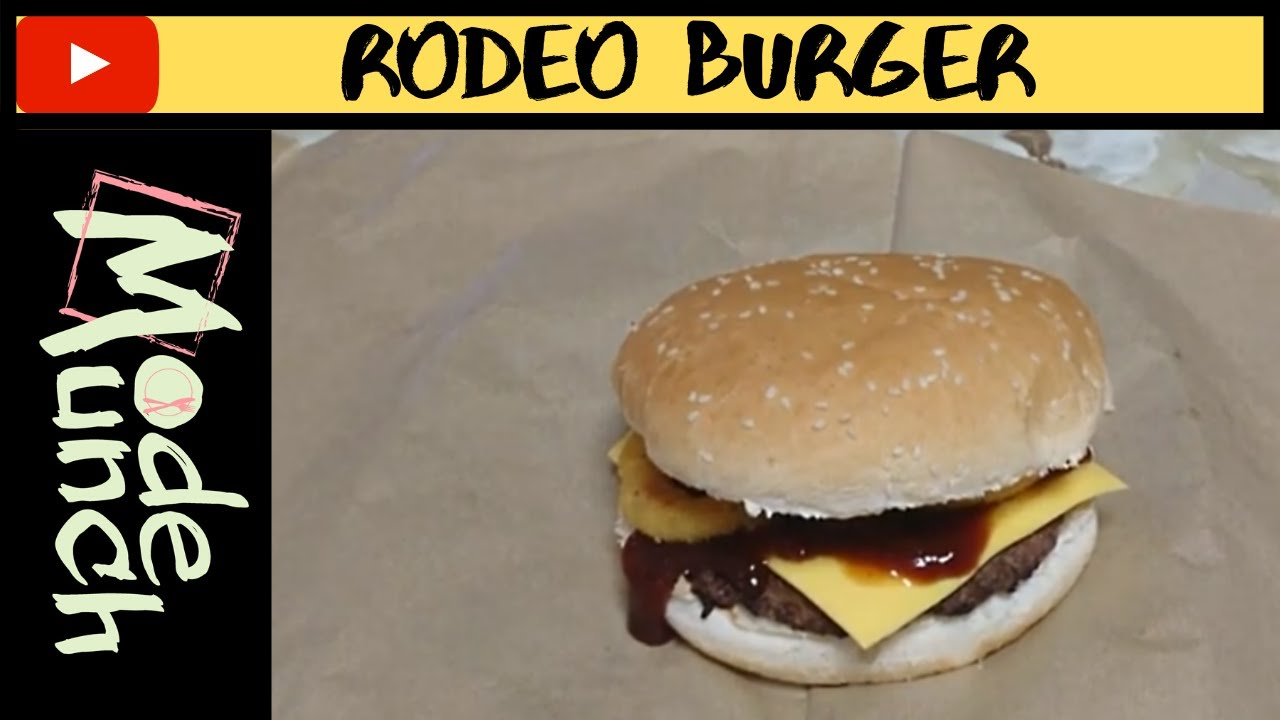 what is a rodeo burger
