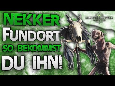 Nekker Fundort in Monster Hunter World vom Witcher 3 Wild Hunt Crossover thumbnail