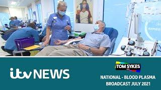 Blood Plasma - ITV News