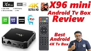 Hindi || x96 mini android tv box review