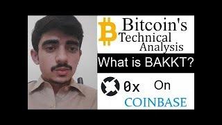 Bitcoin's price analysis .... What is bakkt?? | Market overview .... Urdu/Hindi