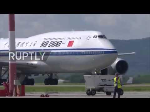 Russia: Xi Jinping arrives in Vladivostok for Eastern Economic Forum