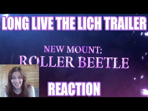 LONG LIVE THE LICH Trailer Reaction | Guild Wars 2 thumbnail
