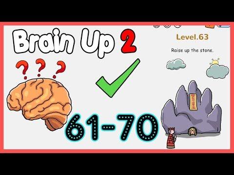 Brain Up 2 Level 61 62 63 64 65 66 67 68 69 70 Walkthrough Solution
