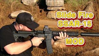 Slide Fire SSAR-15 MOD Stock Review