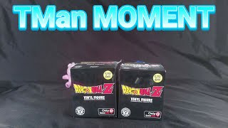 TMan MOMENT: Gamestop Dragon Ball Z Mystery Minis Unboxing