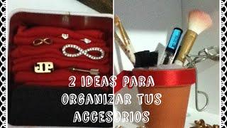 2 Ideas para Organizar tus Accesorios-Parte 1 Thumbnail