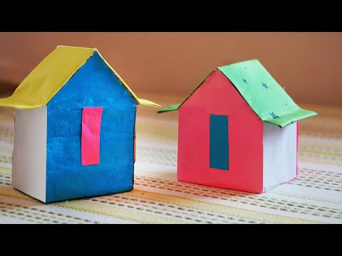Simple Matchbox house | best out of waste matchbox reuse ideas craft | Diy Recycle Matchbox