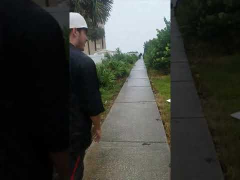 Hurricane Irma 9/10/17 Indialantic Fl 1 pm