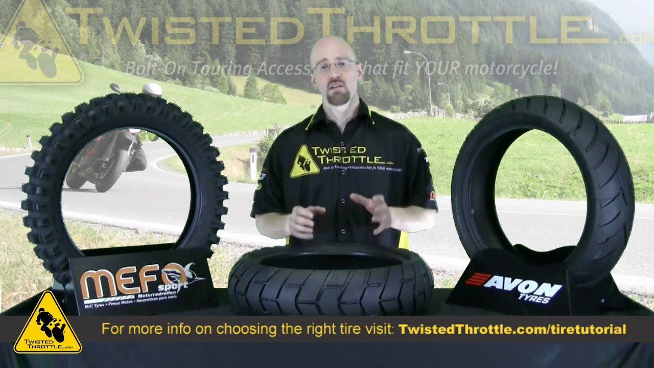 Mefo and Avon motorcycle tires: how to choose the right tire for your  riding style