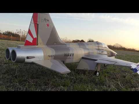 通販で買ったエリア88に出てきたF-5ラジコン飛行機で遊んでみた