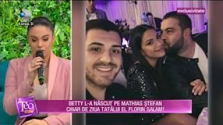 Teo Show (18.10.) - Betty, fiica lui Florin Salam, prima aparitie la TV dupa ce a nascut! Partea 4