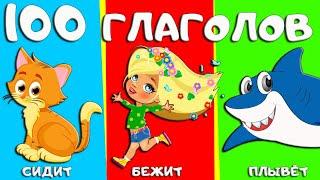 100 слов для детей 1-3 года. ФОРМИРОВАНИЕ ГЛАГОЛЬНОГО СЛОВАРЯ. Учим слова и учимся разговаривать.