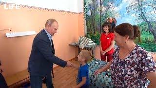Путин пообщался с Матвеем Николаевичем