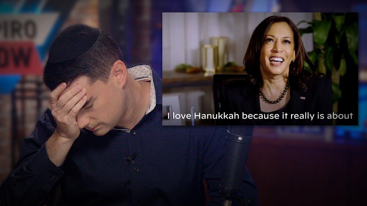 Kamala Harris Explains What Hanukkah Is; Ben Shapiro Reacts