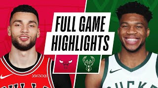 Game Recap: Bucks 126, Bulls 96