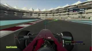 F1 2012 Release Gameplay ITA Parte 1  Primi minuti di gioco Formula 1 Xbox360