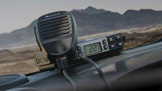 Midland MXT 115 microMbile GMRS two way radio & Renogy