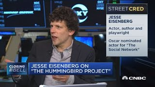Actor Jesse Eisenberg on 'The Hummingbird Project'