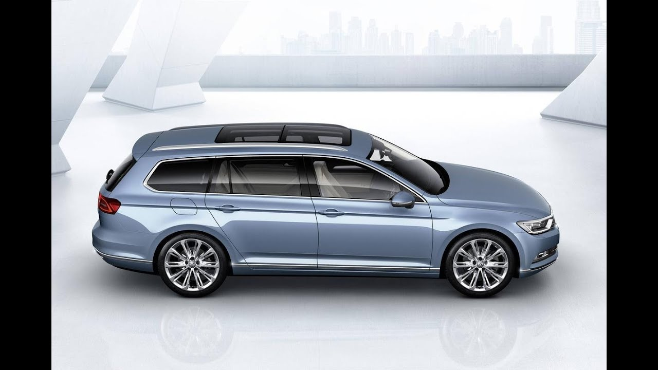 new 2015] VW Passat variant / wagon including interior - YouTube