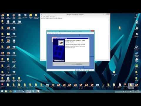 How to install Windows 2000 on Virtualbox (Key + iso)