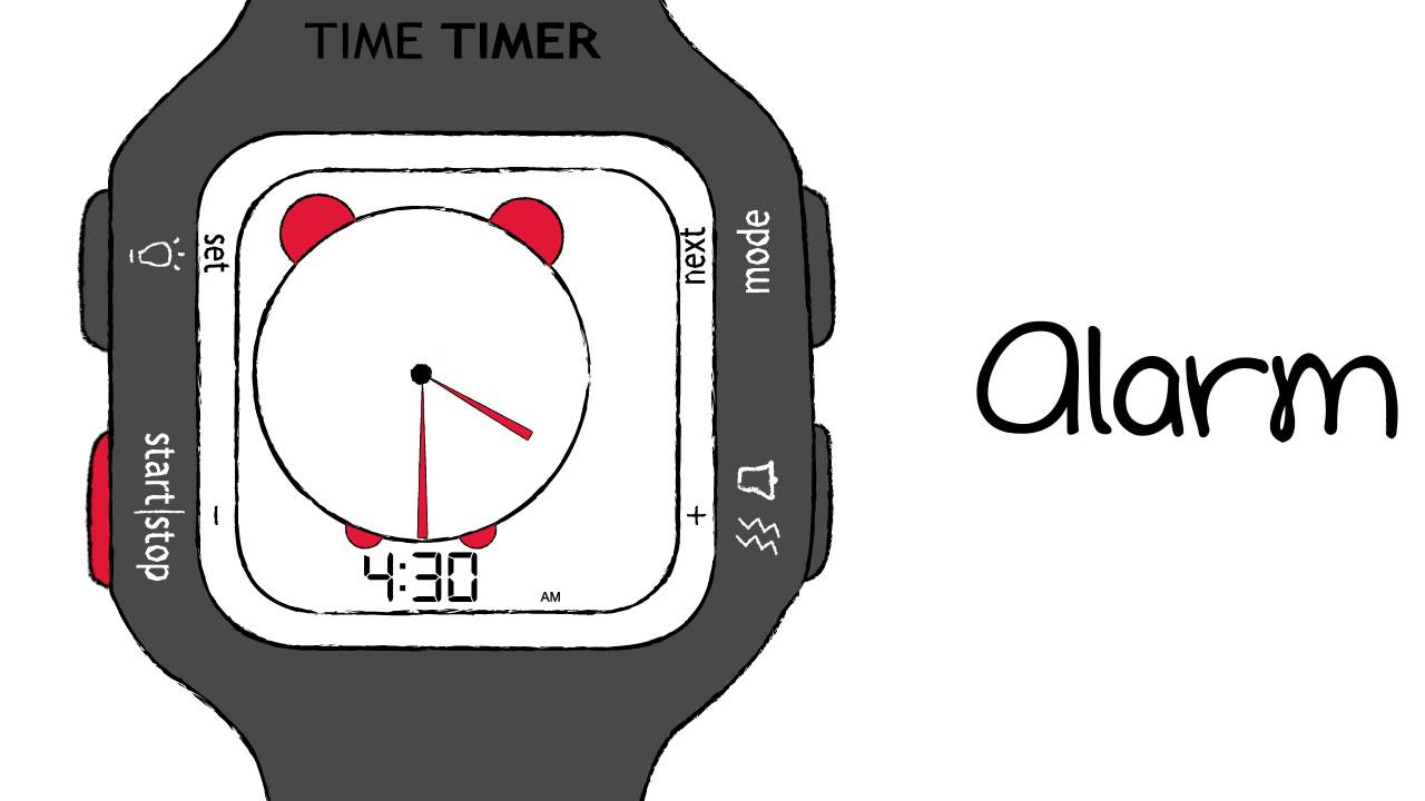 NEW Time Timer Watch PLUS