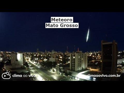 5 Câmeras registram meteoro em Mato Grosso - 16/03/21