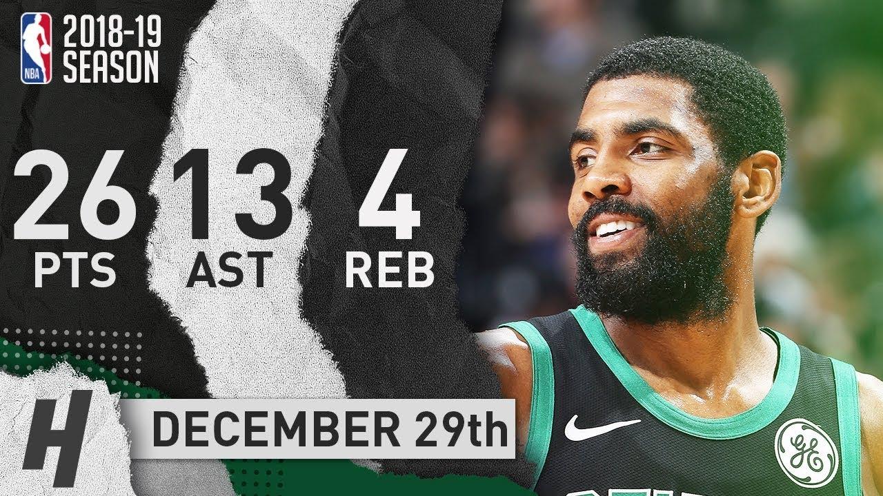 Kyrie Irving Full Highlights Celtics vs Grizzlies 2018.12.29 - 26 ... a135b5e95
