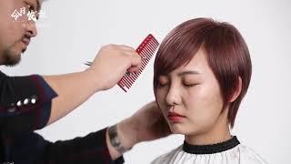 日系短发精修打薄技术,非常实用