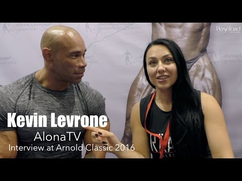 """I will compete again"" Kevin Levrone full interview Arnold Classic Europe 2016 