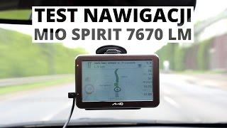 Mio Spirit 7670 LM - test nawigacji #1