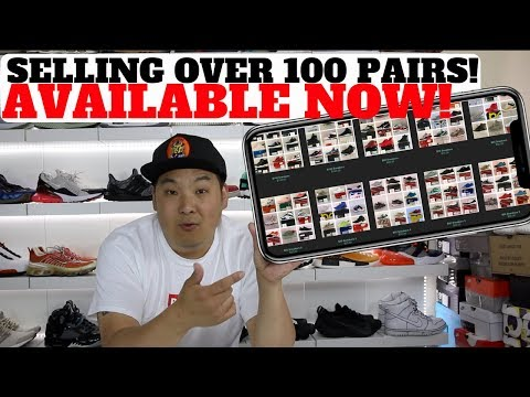 AVAILABLE NOW: Selling Over 100 SNEAKERS From My Collection!
