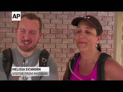 Scorching Heat Wave Not Deterring Hikers