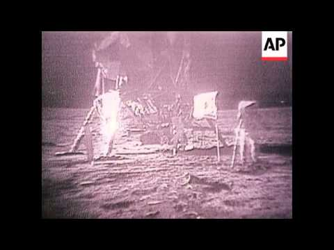 Apollo 11 Moon Landing - 1972