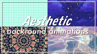 20 Ästhetische hintergrund-Animationen TEIL 1 / für Youtube intros & videos