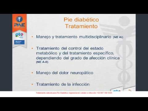 Tratamiento Antibiotico Pie Diabetico - YouTube