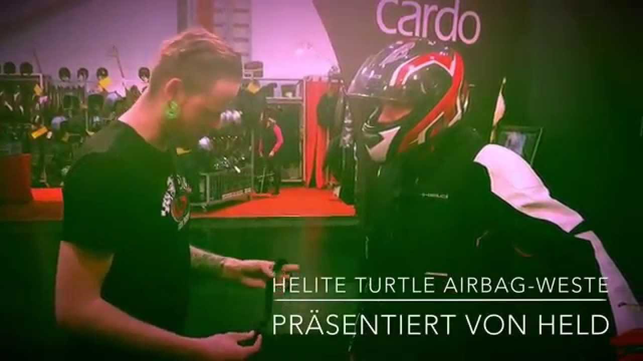helite turtle airbag weste presented by held biker. Black Bedroom Furniture Sets. Home Design Ideas