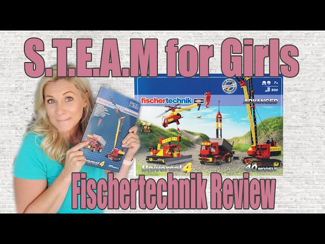 STEAM FOR GIRLS  | Fischertechnik Advanced Universal 4  | 2nd Grade Timberdoodle Curriculum Kit