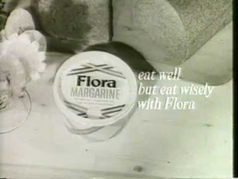 Flora TV ad 1967: Eat Well But Eat Wisely
