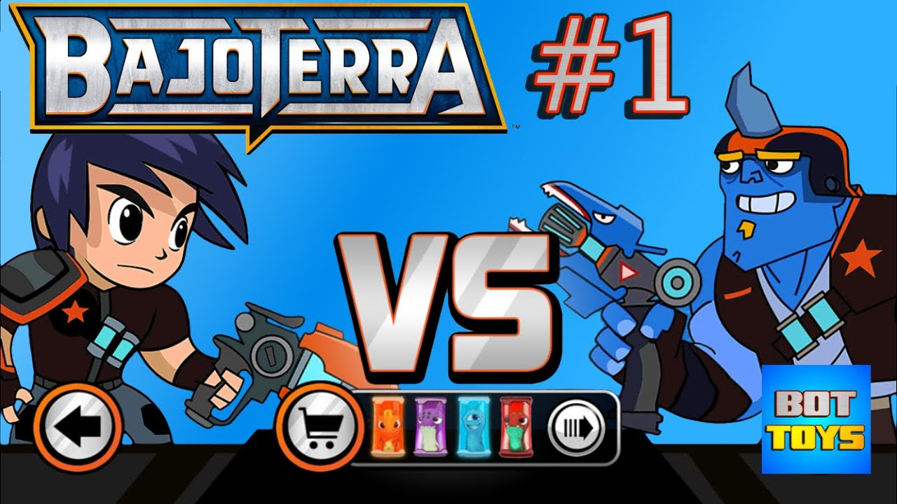 bajoterra cap slugterra slug it out juego de babosas para iphone bot toys youtube