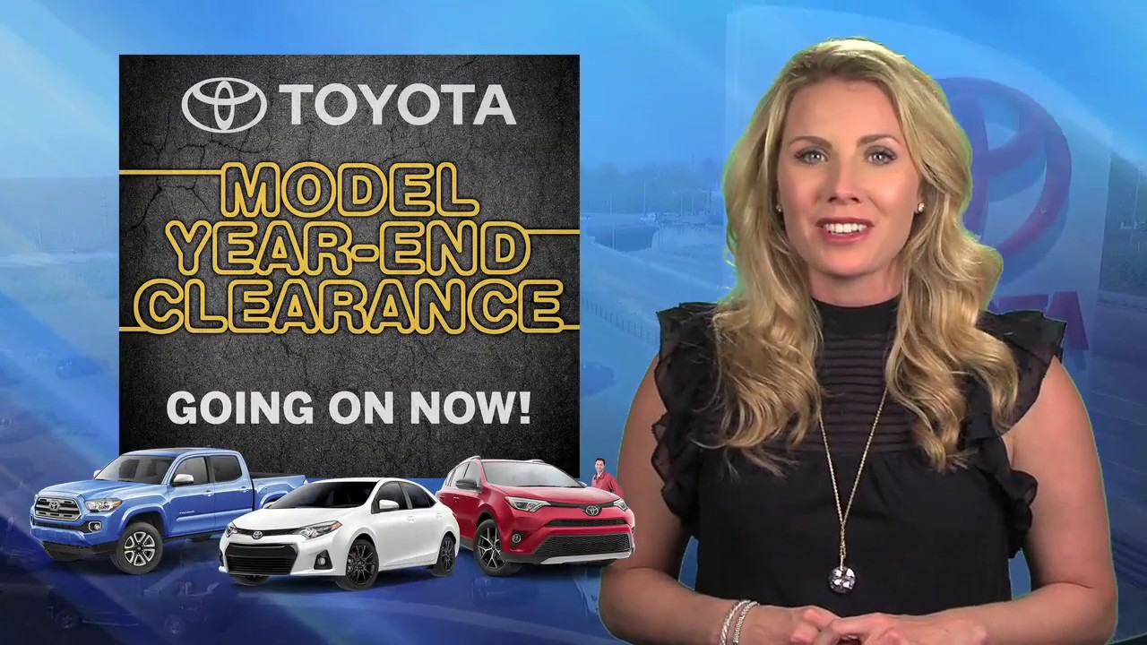Frankfort toyota model year end clearance