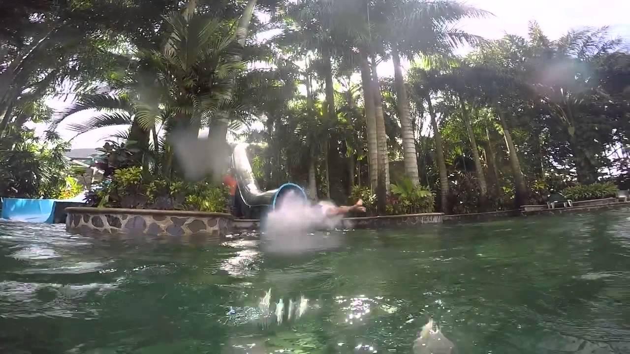 Epic Water Slide At Baldi Hot Springs Resort In Costa Rica
