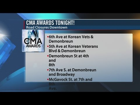 Preparations Underway For 49th Annual CMA Awards