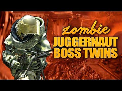 ZOMBIE JUGGERNAUT BOSS TWINS ★ Call of Duty Zombies Mod (Zombie Games)