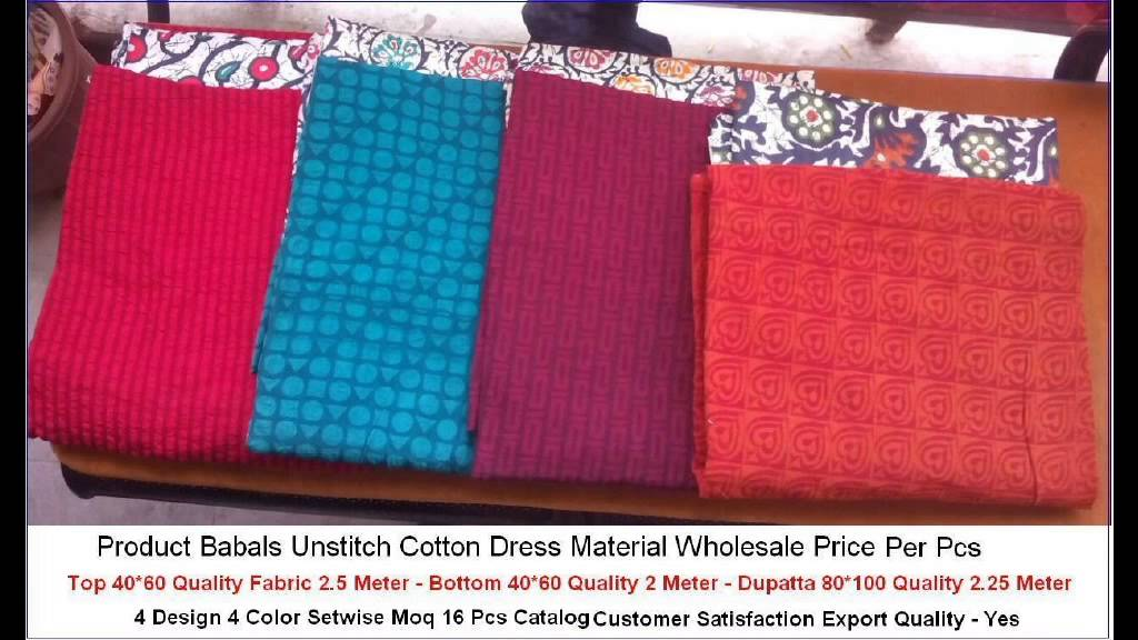 066ee07650 Ladies Cotton Printed Dress Materials Manufacturers Wholesalers In Dhanbad  Jharkhand