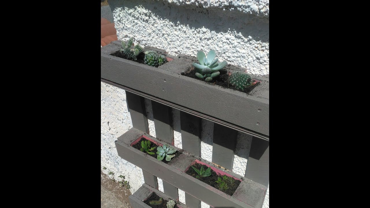 Vasi Per Piante Da Terrazzo creare da un pallet, un porta piante da muro!!!
