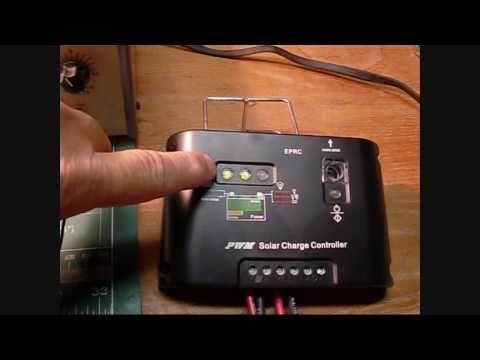 PWM  20A 12V 24V MPPT DC auto CMP Solar Panel Regulator Charge Controller  KS