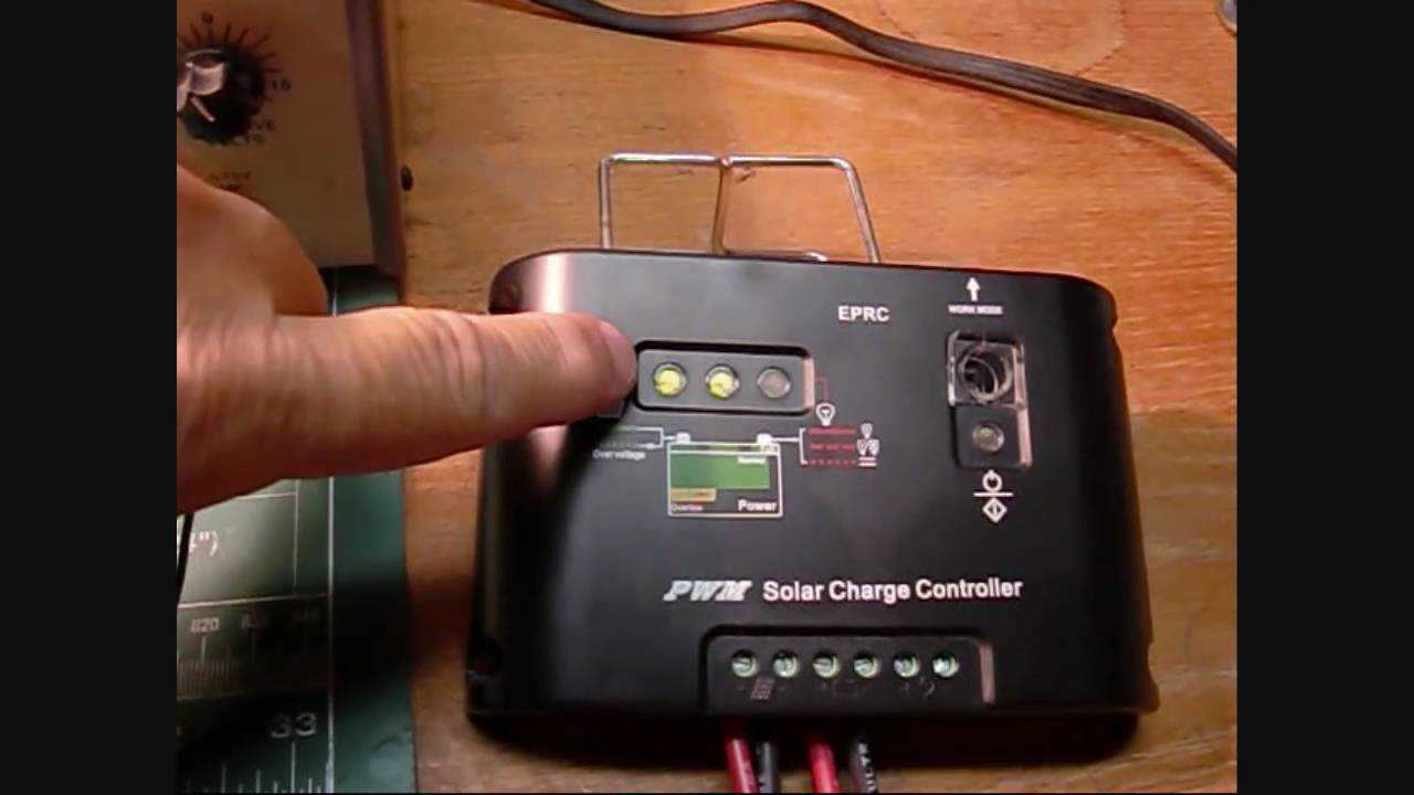 maxresdefault solar panel charge controller bench test youtube  at readyjetset.co
