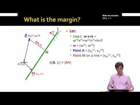 Support Vector Machines  Mathematical Formulation | Stanford