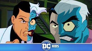 Batman VS Two-Face | Classic Batman Cartoons | DC Kids